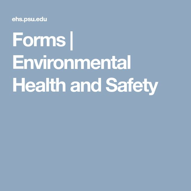 The  Best Environmental Health And Safety Ideas On