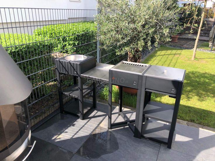 Idee: Modulare Outdoor Küche von oneQ