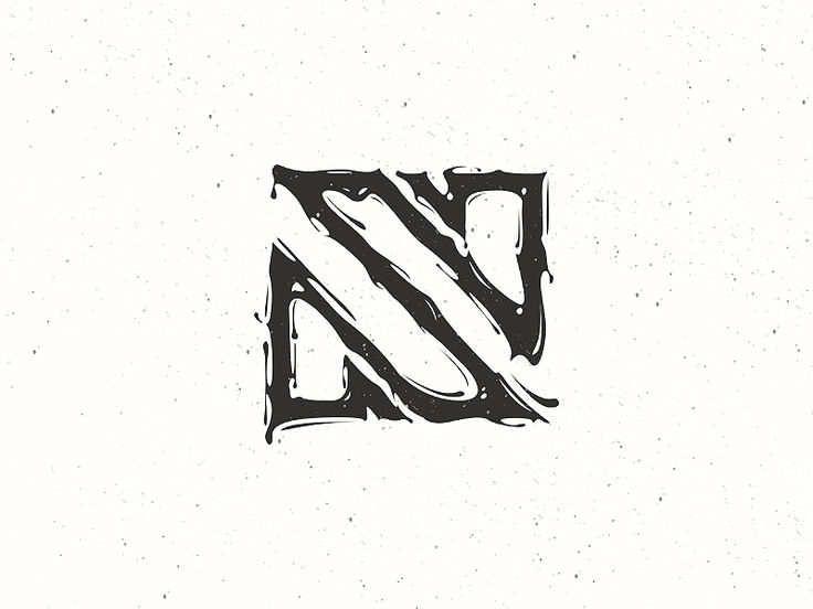 عکس پروفایل حرف N جدید زیبا و خاص Logo Inspiration Creative Logo Monogram Logo