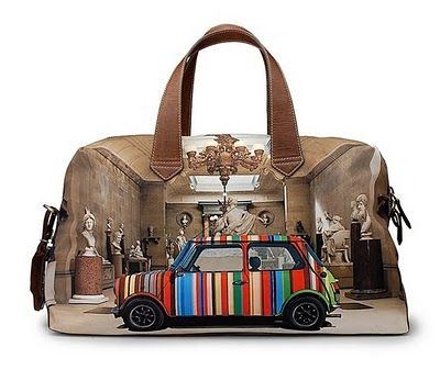 """Paul smith bag """"Mini Cooper Edition"""" - always been on my want list..one day."""