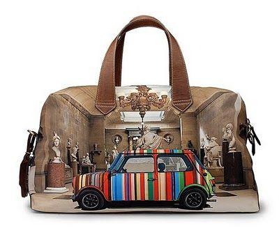 """Paul smith bag """"Mini Cooper Edition"""""""