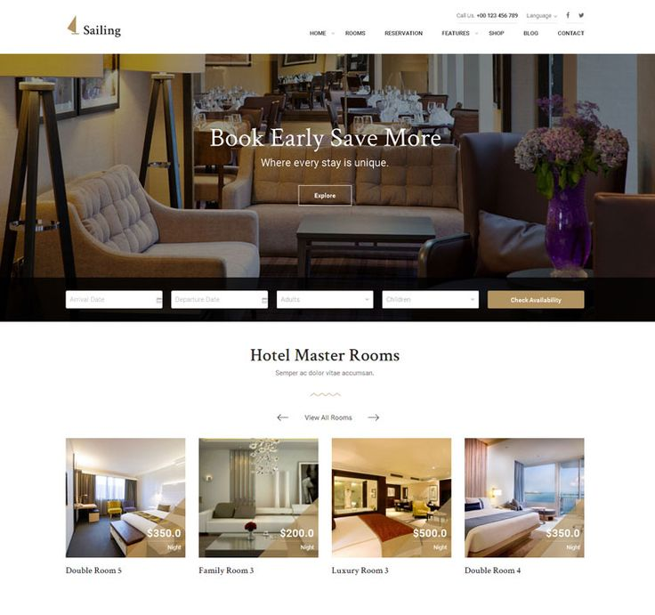 10 Best Hotel Reservation WordPress Themes