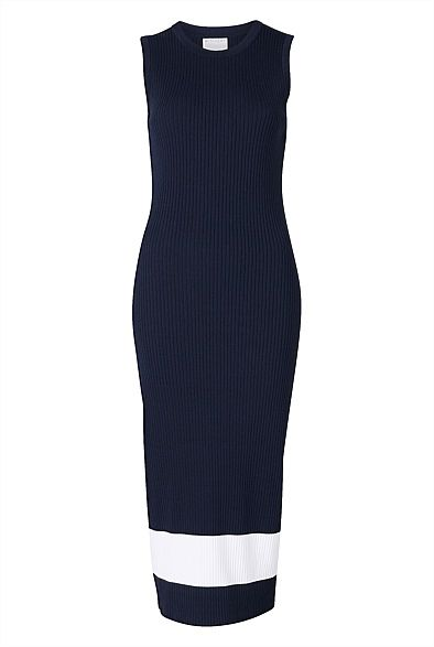 Women's New In | Clothing | Witchery Online - Sleeveless Knit Dress