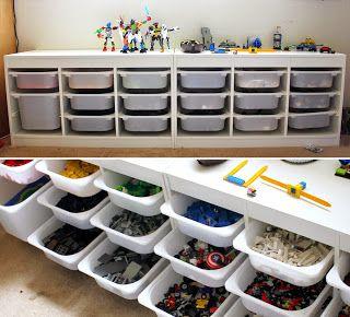 Домашний уют: Организация и хранения Лего