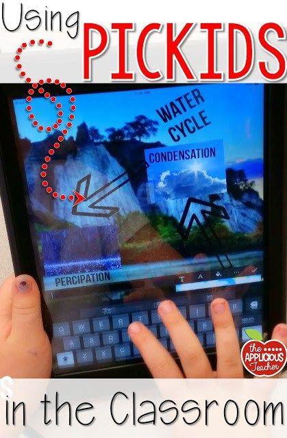 Creating Digital Posters with PicKids - The Applicious Teacher- use this easy app to have students create digital posters. So many endless possibilities. Perfect even if you're not in a 1-1 classroom with Ipads.