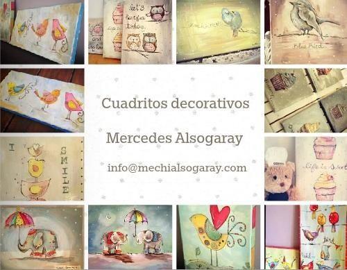 Mechi's paintings.