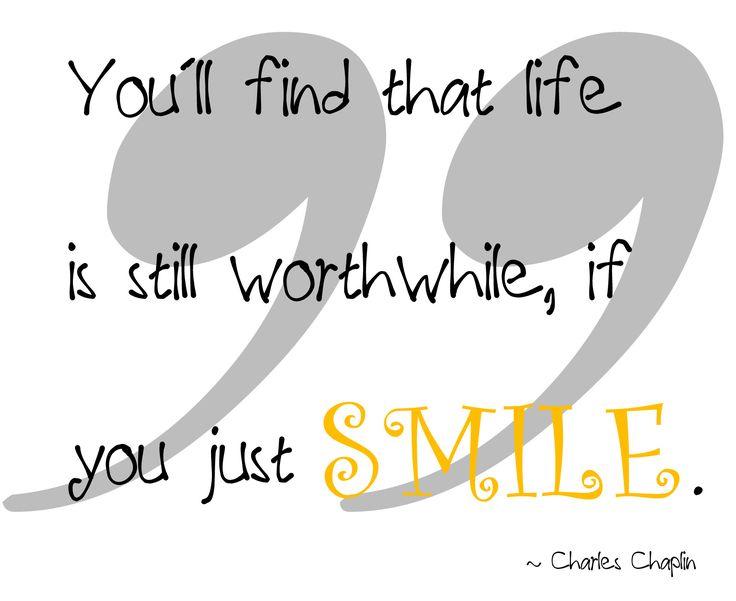 Jeg liker å smile, og jeg liker å se folk smile ツ – mot andre eller til meg, eller at noen går og smiler for seg selv. I dag er det verdens smiledag, som altså faller på den første fredagen i oktober og i 1999 feiret de den første World Smile Day. Mannen som startetdet...Continue
