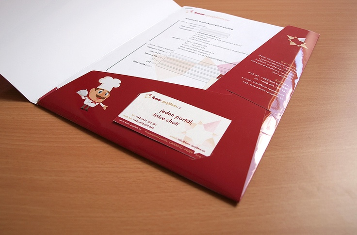 Corporate design for project Kam-pujdem.cz