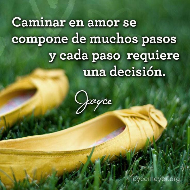 Caminar en amor...