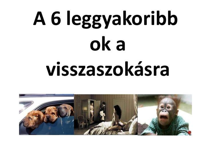 http://biorezonanciameres.hu A 6 leggyakoribb ok a visszaszokásra
