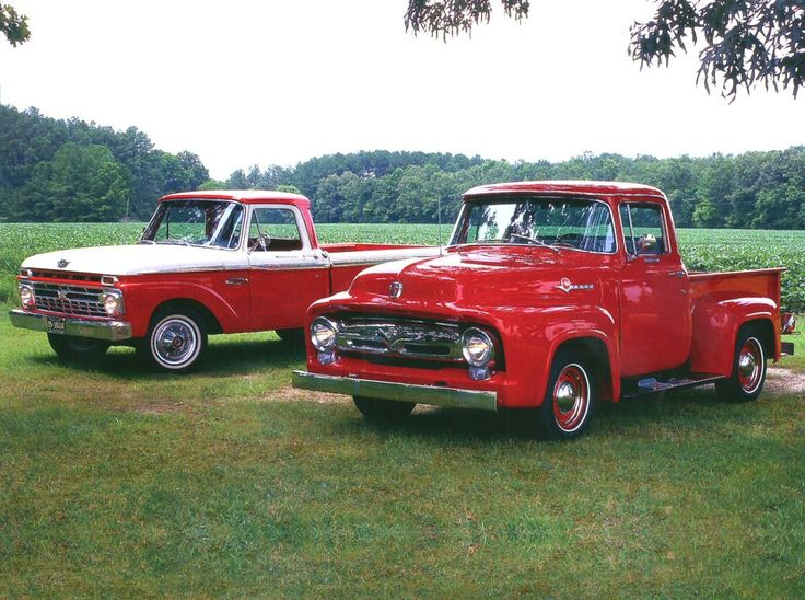 Ford Pick-up Truck Red   #MadeInAmerica