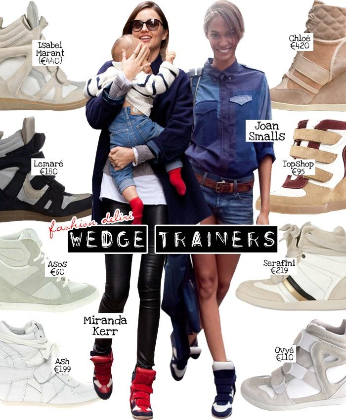 fashion delirium: Wedge Trainers!  --> http://tinyurl.com/c9k9m99