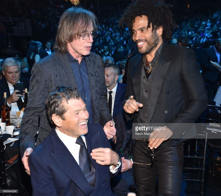 Jann Wenner, Jackson Browne and Lenny Kravitz attend 32nd Annual Rock
