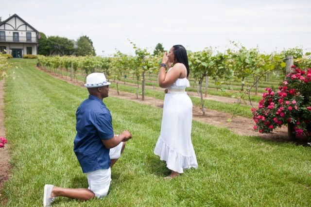 See this man's surprise proposal to his girlfriend during caught during a photo shoot! #proposal #engagement #surprise