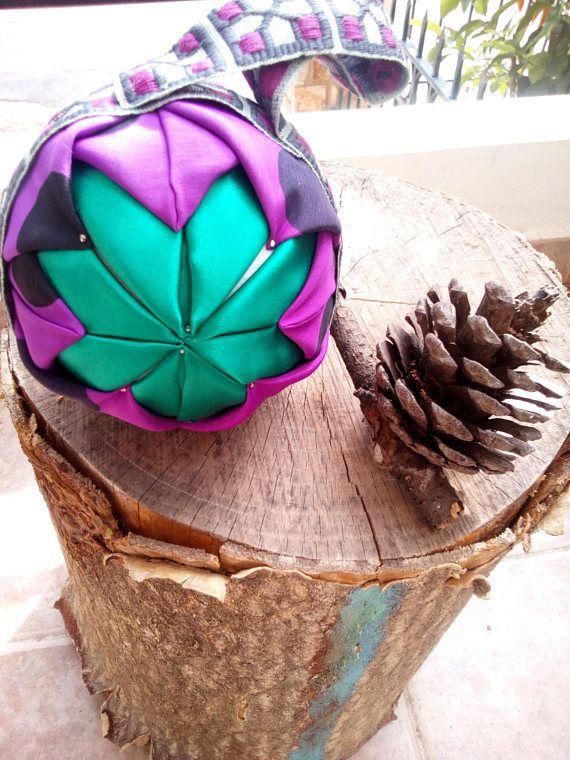 fabric christmas balls ornaments home decor accents no sew
