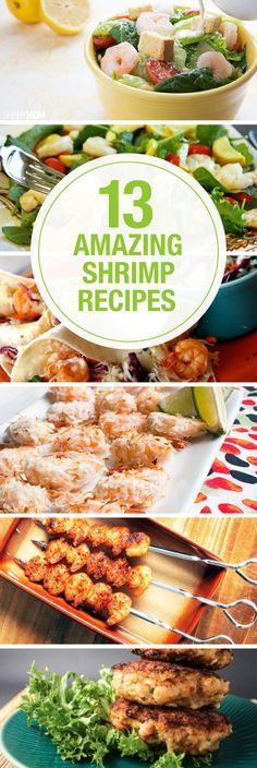 Not sure what to do with the shrimp you bought? Here are 13 ideas for you!