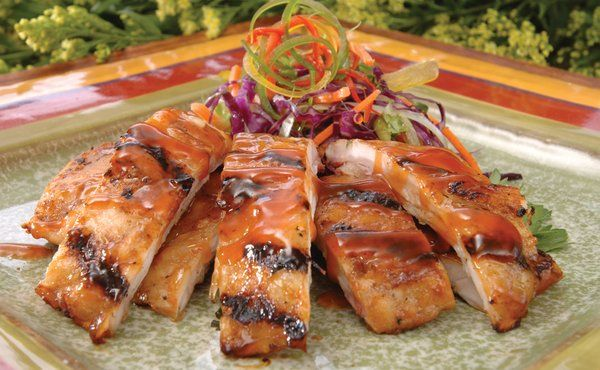 Citrus Glazed Gator Ribs - Florida Gators  http://recipes.sparkpeople.com/recipe-detail.asp?recipe=1829458