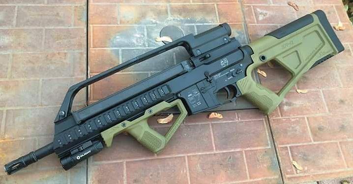 Are there any AR stocks similar to the Hera cqr? : guns