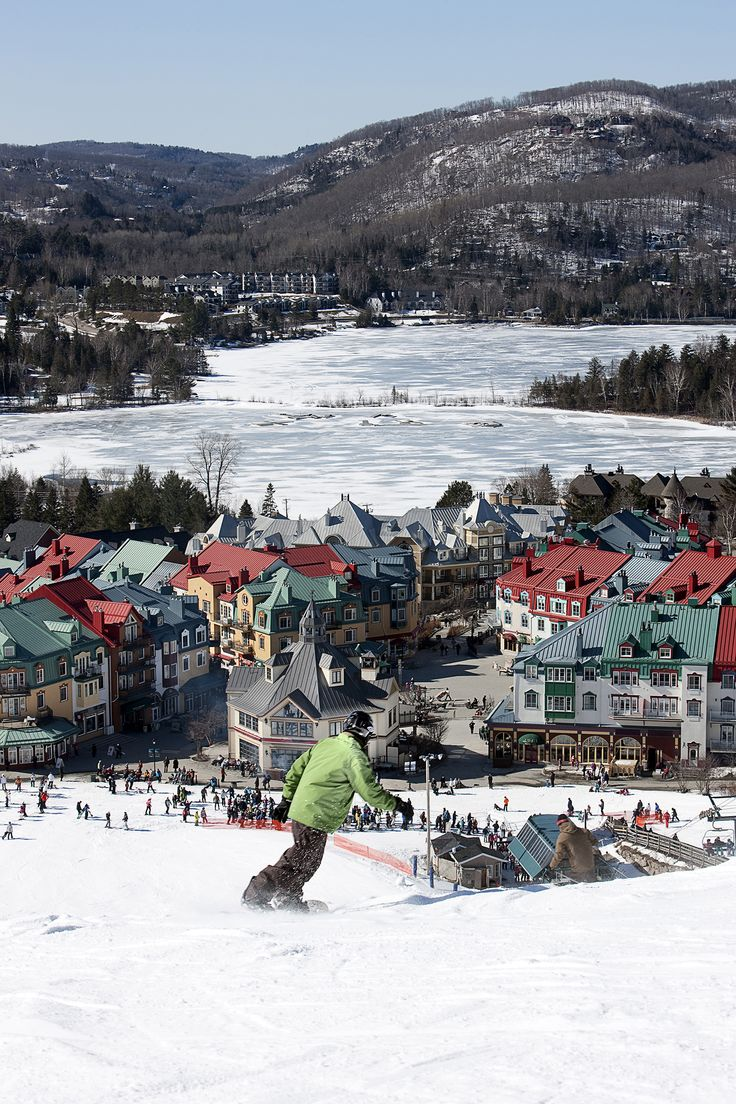Diversión invernal en la Provincia de Quebec