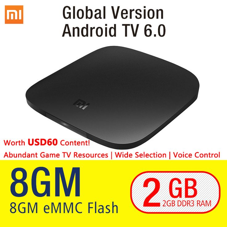 D'origine Xiaomi MI BOÎTE Android 6.0 Smart Set-top TV Box 4 K Quad Core WIFI Youtube Sling TV Netflix DTS Dolby IPTV Médias lecteur