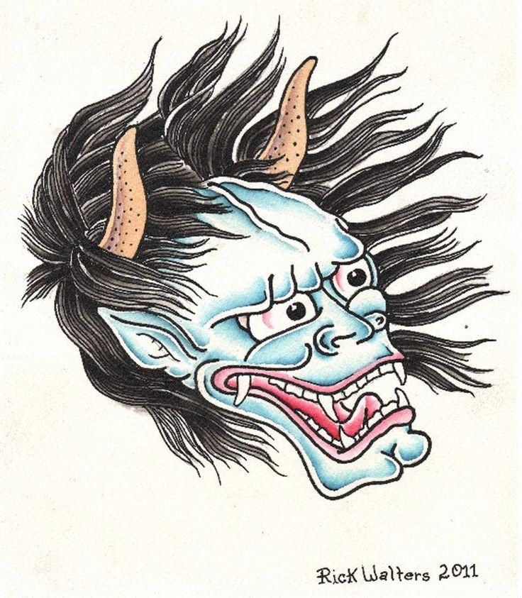 Japanese Demon Face Tattoos | www.pixshark.com - Images ...