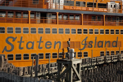 Staten Island, NY - I never took the ferry when I lived there; I preferred the bus or cab when I didn't drive my car.