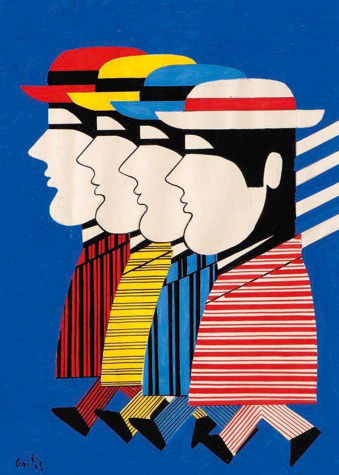 Γιάννης Γαΐτης (1923-1984) Φιγούρες