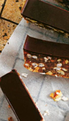 Raw snickers bar - Donna Hay on Sunrise