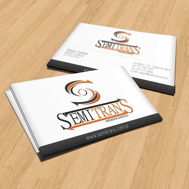 Cartão de Visita Semitrans