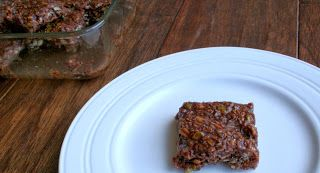 The Healthy Happy Wife: No Bake Chocolate Bars (Dairy, Gluten, Grain, Nut, Refined Sugar and Egg Free)