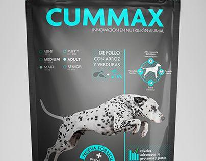 Dog food Packaging. CUMMAX