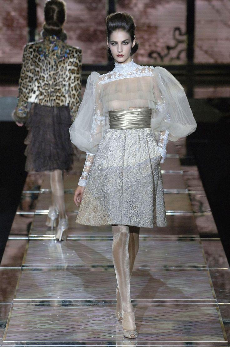 Осень-зима 2007/2008 / Couture / НЕДЕЛЯ МОДЫ: Париж
