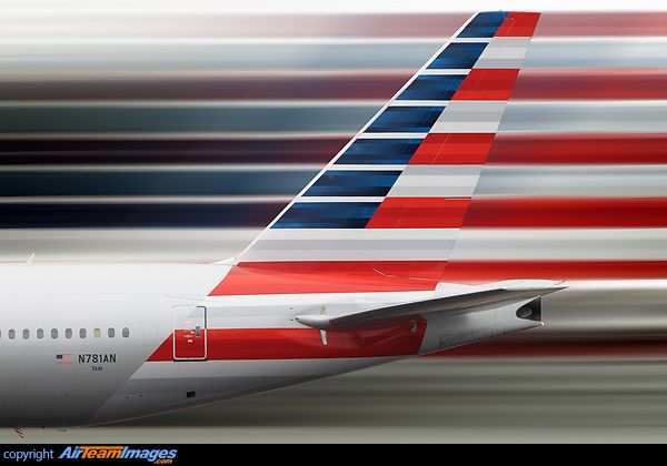 Boeing 777-223/ER  American Airlines new livery