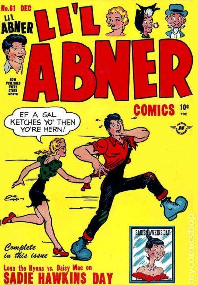 Li'l Abner | November 2*: Sadie Hawkins Day