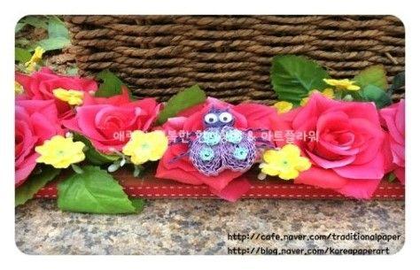 골판지공예 무당벌레 (아트플라워 조화공예 한지꽃 지화 종이꽃 페이퍼플라워 코사지 에바폼) : 네이버 블로그