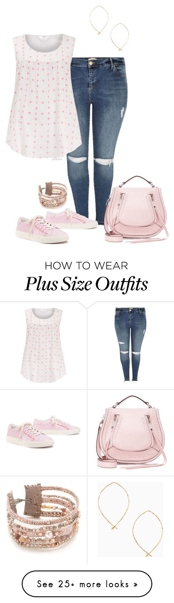 """""""Sweet child- plus size"""" by gchamama on Polyvore featuring River Island, Tory Burch, Rebecca Minkoff, Stella & Dot and Chan Luu"""