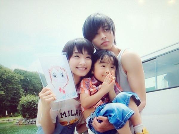 "Kento Yamazaki x Ayame Goriki, BTS photo, J live-action movie from manga ""L♡DK"", 2014. Plot & Movie [Eng. Sub]"