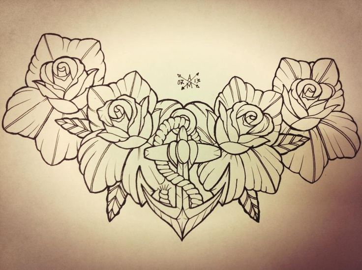 Cool Idea For A Chest Piece, But No Anchor Tho For Me