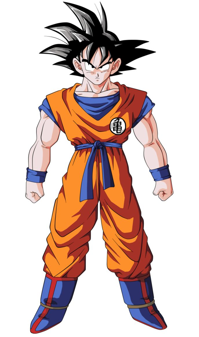 Fanart for -> Vargas1478 based on Dragon Ball Z world. Original character drawing is 4000x6640 px The stance is based on an existing Goku image because Vargas1478 wanted it that way. The armour ...