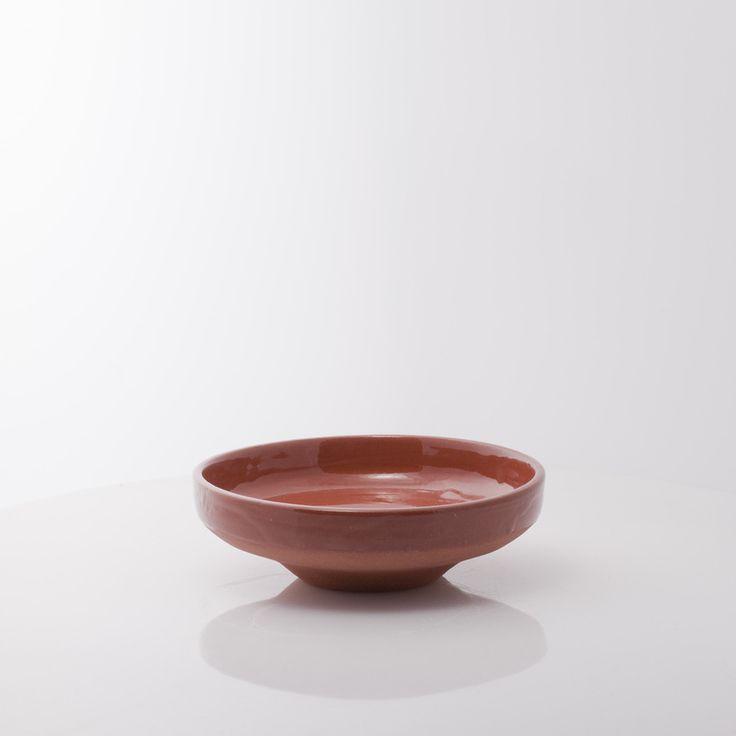 Saher lite serveringsfat i keramikk