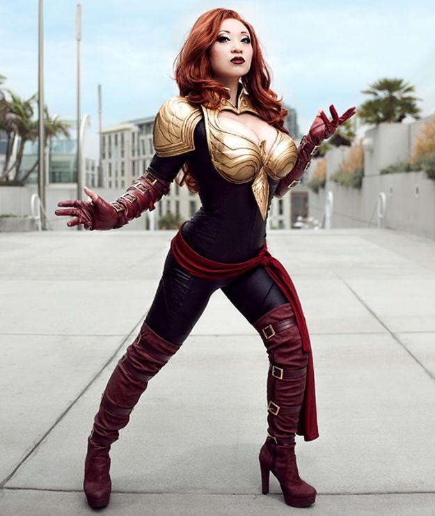 Jean GREY alias Phoenix(X-men)