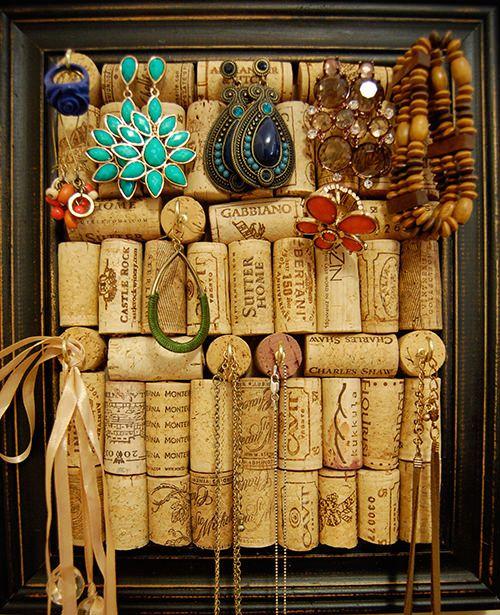 Fun Ways To Display Wine Corks: Best 25+ Cork Board Jewelry Ideas On Pinterest