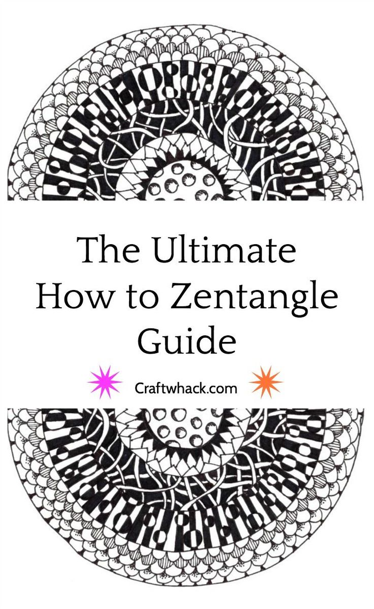 How to Zentangle - how to get started, what to use, cool beginning (and more advanced) projects, and lots of inspiration here