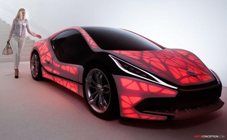 EDAG 'Light Cocoon' for 3D Printed Car