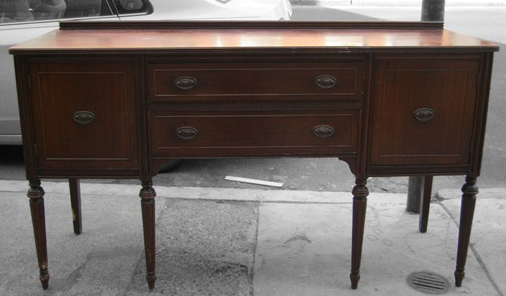 1940s Furniture Mahogany 1940 S Buffet 195 1940s