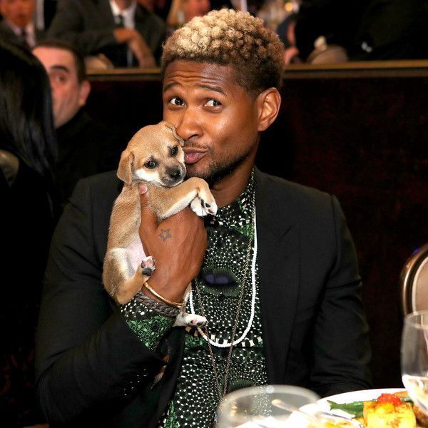 Singer Usher attends JDRF LA's IMAGINE Gala to benefit type 1 diabetes research at The Beverly Hilton.