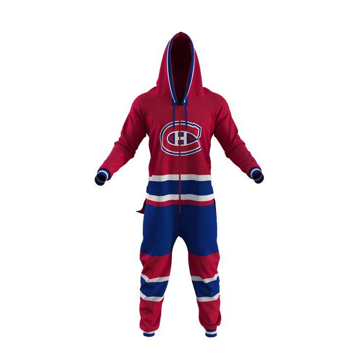 NHL Onesie - Montreal Canadiens - Hockey Sockey