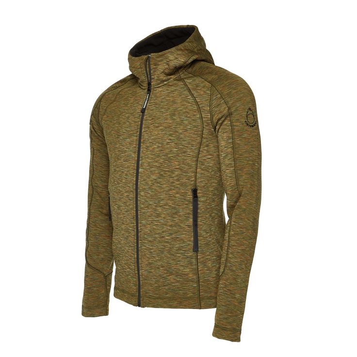 Comfortable hooded sweater for men. A reliable travel companion in all conditions.