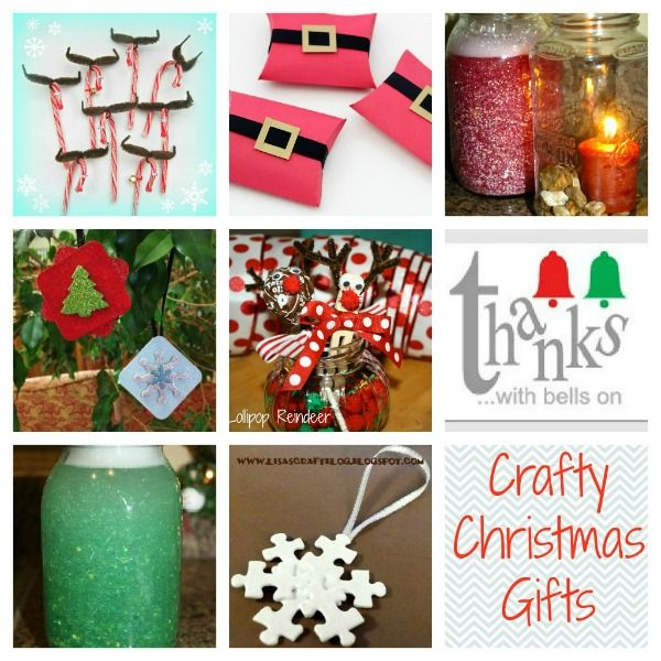 Crafty Christmas Gifts for Teachers & Classmates