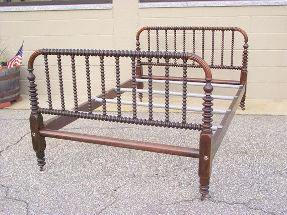 Jenny Lind Bed Spindle Spool Full Double Size By Oldmillvintage New Room Pinterest And Bedroom